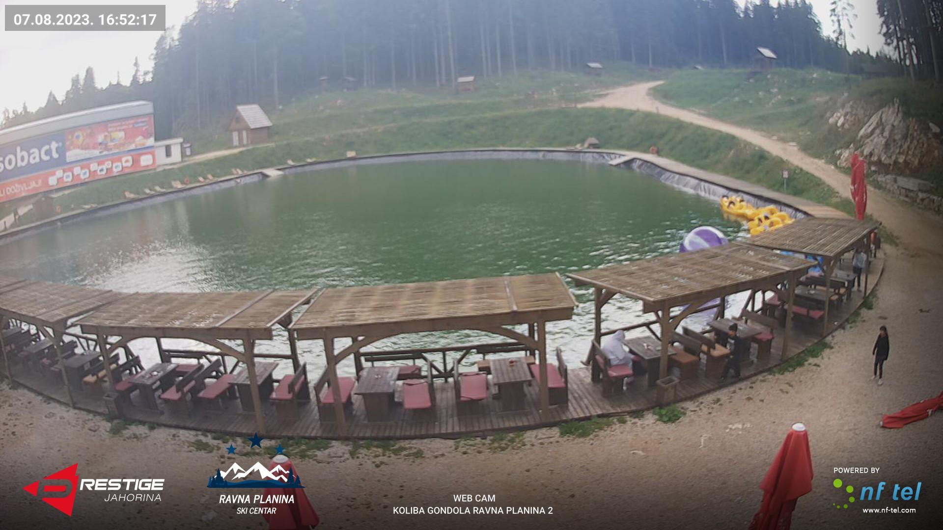 """Web Kamera Ski centar """"Ravna planina"""""""