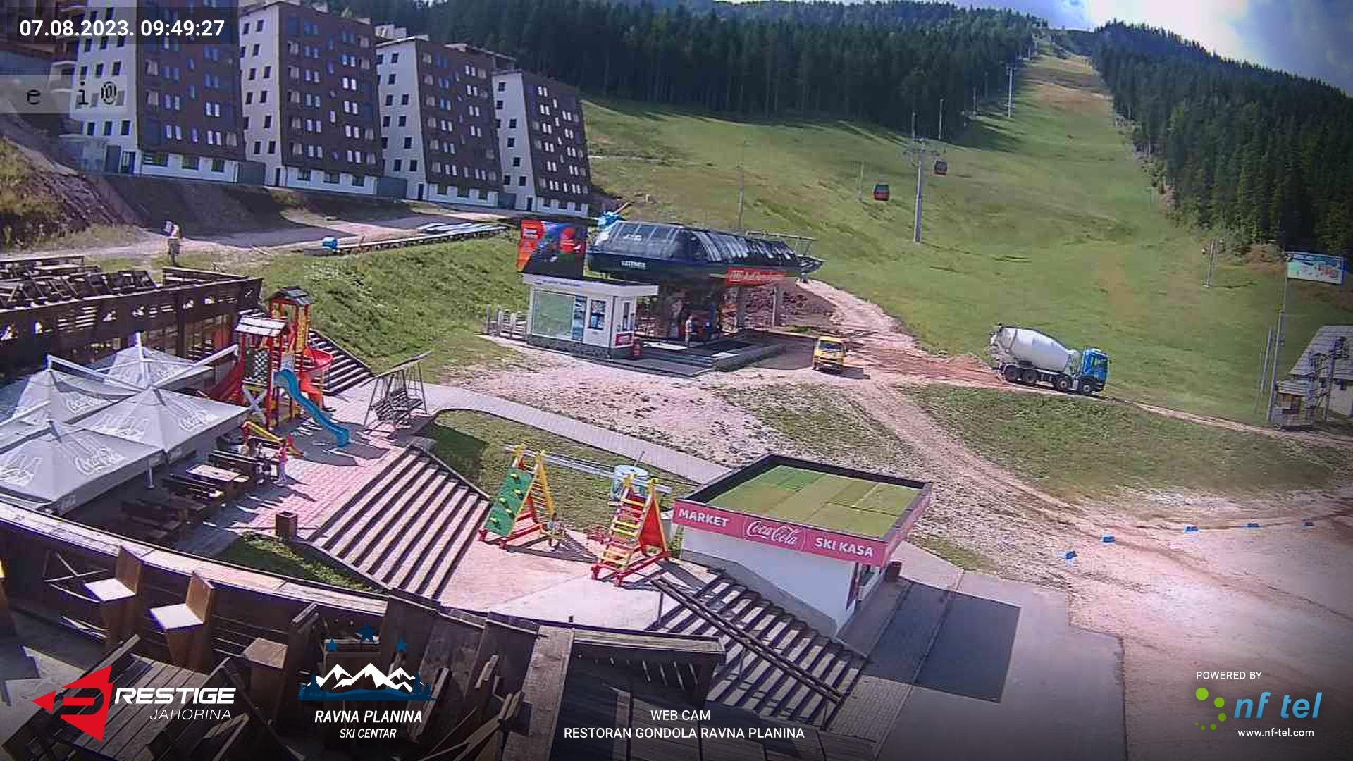 """Web Cam Ski centar """"Ravna planina"""""""